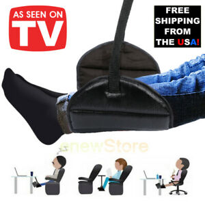 Travel-Airplane-Hanger-Footrest-Hammock-Made-Memory-Foam-Flight-Leg-Pillow