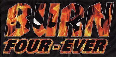 Spitfire Wheels Burn Skateboard Sticker New for Skateboards sk8 skate board