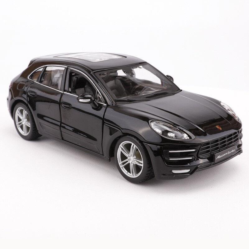 Bburago 1  24 tärningskast Porsche Macan SUV Mall Alloy Fordon Leksaker F samla