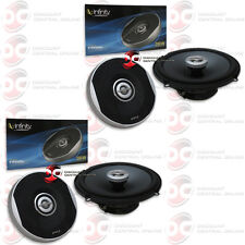 """4 x INFINITY PRIMUS 6.5"""" 2-WAY CAR AUDIO COAXIAL SPEAKERS 280 WATTS MAX POWER"""