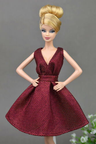 """2pcs Doll Dresses Classical Evening Dress Purely Manual Clothes for 11.5/"""" Doll"""