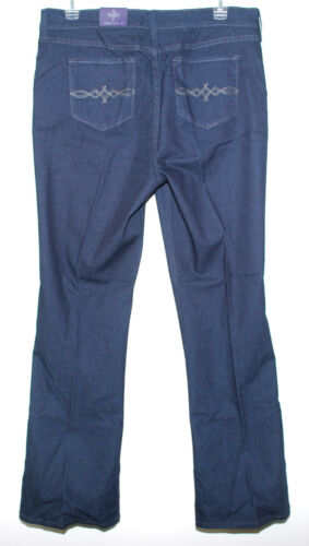 NYDJ Not Your Daughter/'s Jean Soft Modern Flare Lift Tuck Sz 18 NEW