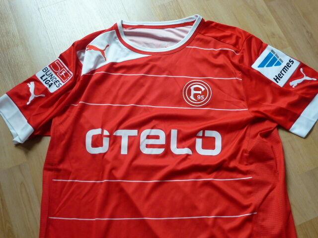 Fortuna Düsseldorf Trikot rot 12 13  Levels  19 Gr. L mit BL + Hermes Patch