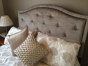 Dorset Upholstered Queen Bedhead Australian Made Bed Heads