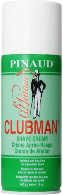 Clubman Shave Cream, 12 oz
