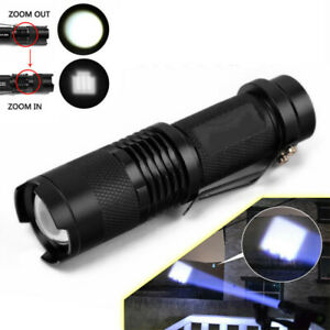 2x-Ultrafire-6000Lumen-T6-LED-Rechargeable-Flashlight-Torch-Super-Bright-HNF