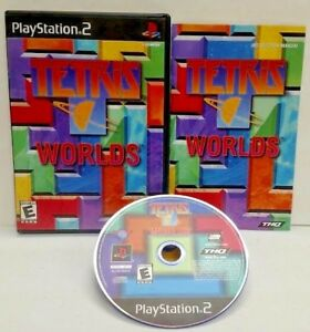 Tetris-Worlds-PS2-Playstation-2-COMPLETE-Game-1-Owner-Near-Mint-Disc