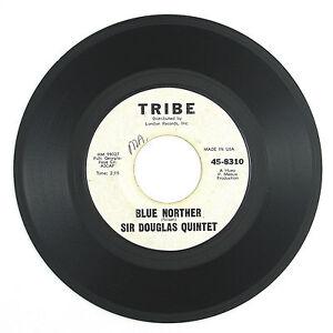 SIR-DOUGLAS-QUINTET-Blue-Norther-The-Tracker-1965-ROCK-TEX-MEX-VG-VG-LISTEN