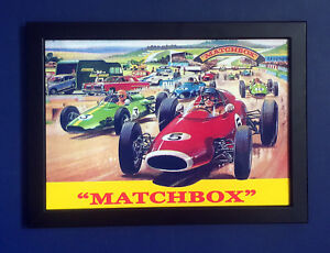 Matchbox Toys 1960/'s Shop Display Sign Poster Advert Point of Sale Leaflet no 2