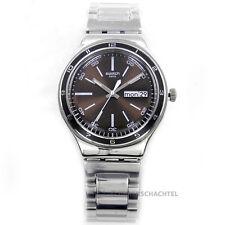 Swatch Uhr Irony Big BROWN DECENCY (YGS753G) (NEU + OVP)