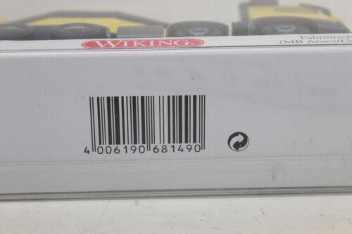 Wiking 681 49 conducción mezclador MB arocs Liebherr 068149 1:87 h0 nuevo en OVP