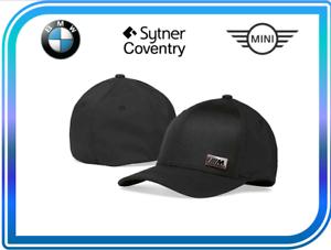 Genuine Black BMW M Performance Cap With Metal Plaque 80162454740