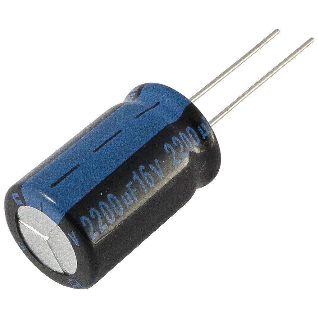 10 x 1000 uF 16V Elektrolytkondensator Electrolytic Capacitor #A884 Stk