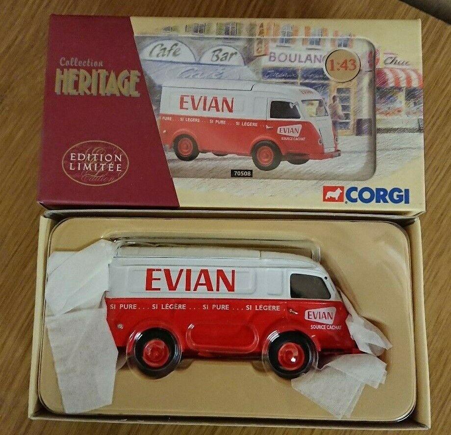 Corgi 70508 Renault 1000kg  EVIAN  water Ltd Edition No 1633 of 2000