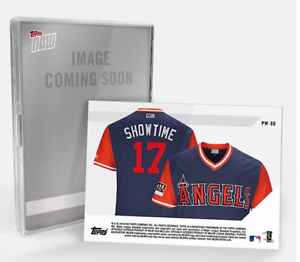 2018 Topps Now ANGELS Players Weekend 5 Card Set Shohei Ohtani ... 13f31d927