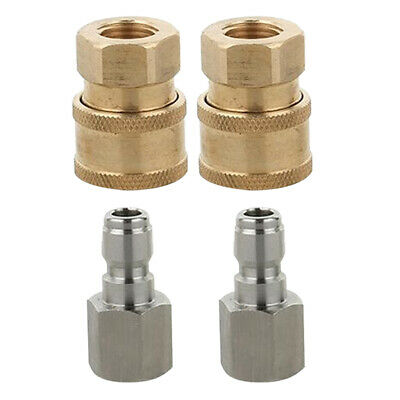 10Pcs G1//4 Female Thread Quick Coupler Connector for 8mm OD Tube