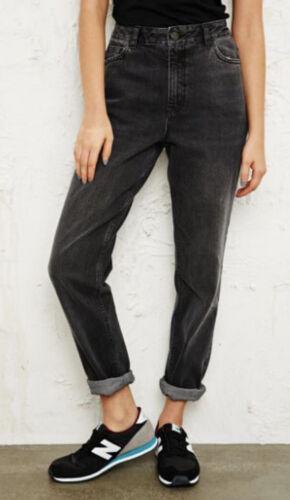Vintage 90's Black Distressed Mom Jeans 8