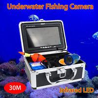 Boblov 30m Fish Finder Underwater Ice Fishing Infrared 1000tvl Camera 7 Monitor