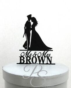 Personalized Wedding Cake Topper - Police Officer and Bride ...