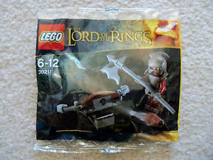 LEGO-Lord-Of-The-Rings-LOTR-Rare-Uruk-Hai-with-Ballista-30211-New-amp-Sealed