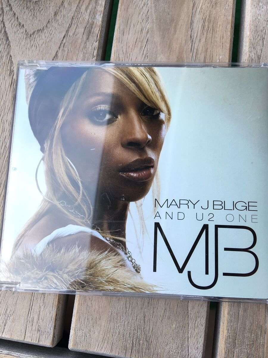 Mary J  Blige and U2: One, pop, Single cd  , Kan sendes so