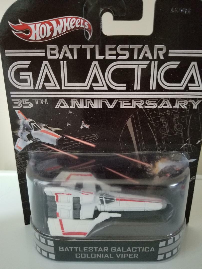 slåssstjärna Galactica Colonial Viper 25 e årsdagen