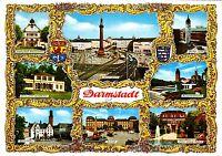 Darmstadt ,Ansichtskarte, 1972 gelaufen