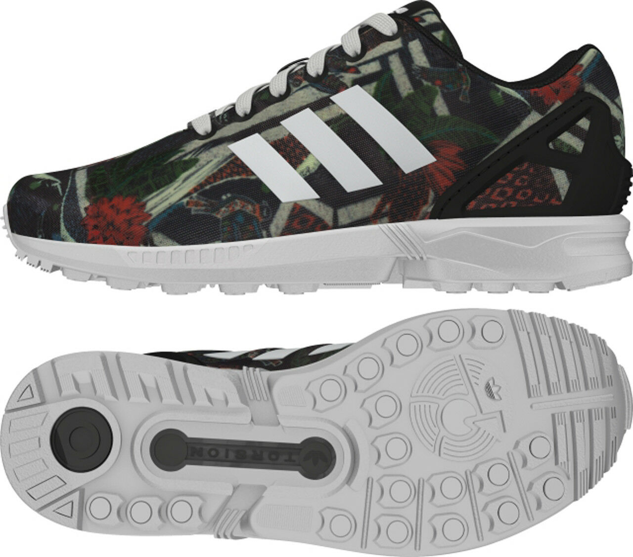Adidas Originals ZX Flux negros señora b25484 the farm Zapatos señora negros ee2a17