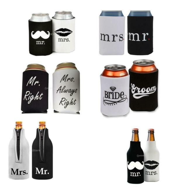 New 2 pack Funny Christmas party Can drink Cooler koozie