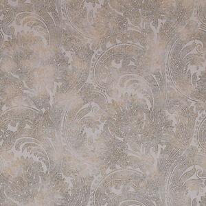Detalles De 18384 Riviera Maison Paisley Bonita Marrón Y Gris Galerie Wallpaper Ver Título Original