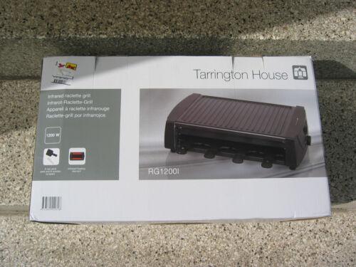 Tarrington House RG1200I Infrarot Raclette Grill Antihaftbeschichtet 1200 Watt
