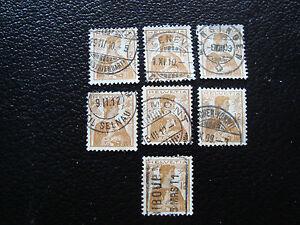 Switzerland-Stamp-Yvert-and-Tellier-N-132-x7-Obl-A15-Stamp-Switzerland