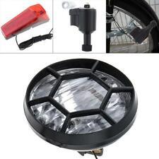 Bicycle Bike Safety Front Headlight Taillight Rear Light Set 6V 3W Dynamo Kit