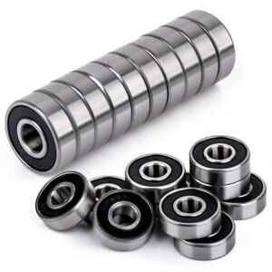 10pcs-608-2RS-Miniature-Premium-Rubber-Sealed-Ball-Bearing-Deep-Groove-8x22x7mm