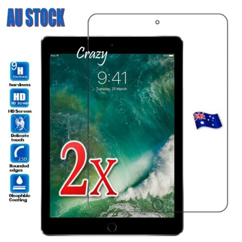 2X For Apple iPad Mini 4 Tempered Glass LCD Screen Protector Film Guard