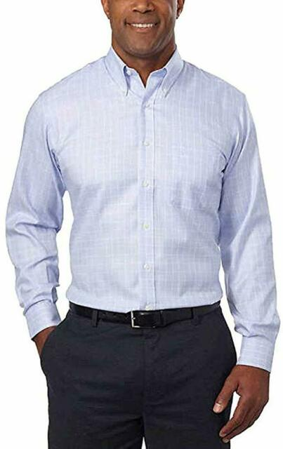 Kirkland Men/'s Signature Tailored Fit Dress Shirts White *FREE SHIPPING*