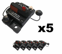 Qty5 Vcb150 Shakespeare Comp 24v Trolling Motor 150a Fuse Marine Circuit Breaker
