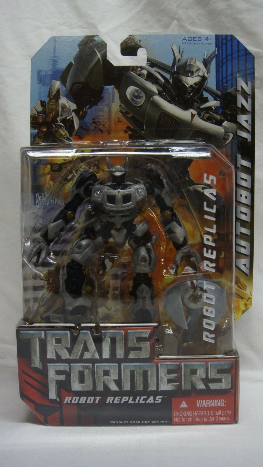 TRANSFORMERS ROBOT REPLICAS AUTOBOT JAZZ NEW SEALED VERY RARE