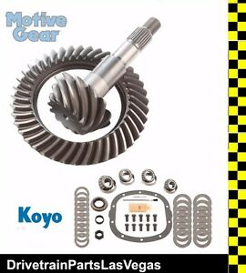 """3.73 Thick /& Master Bearing Installation Kit NEW CHEVY GM 7.5/"""" 10-Bolt Gears"""