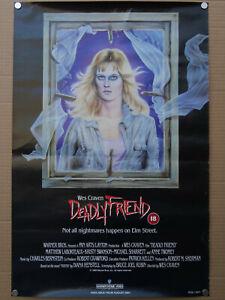 deadly-friend-uk-vhs-video-film-poster-wes-craven