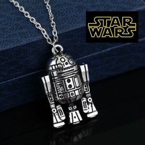 STAR-WARS-R2D2-Full-Metal-Pendant-force-collectible-cosplay-us-seller-cosplay