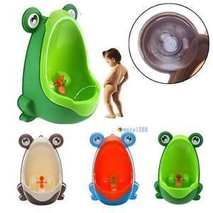 Frog Children Potty Toilet Training Kids Urinal for Boys Pee Trainer Bathroom @W