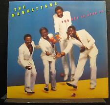 The Manhattans - Too Hot To Stop It LP VG+ FC 39277 Columbia 1985 Vinyl Record