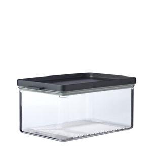Mepal-Omnia-Cheese-Storage-Box-Nordic-Black-Fresh-Food-Fridge-Storage