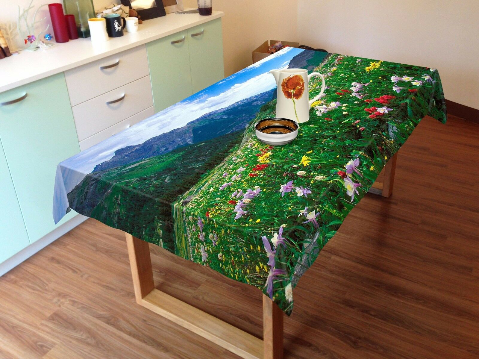 3D Field 8823 Tablecloth Table Cover Cloth Birthday Party Event AJ WALLPAPER AU