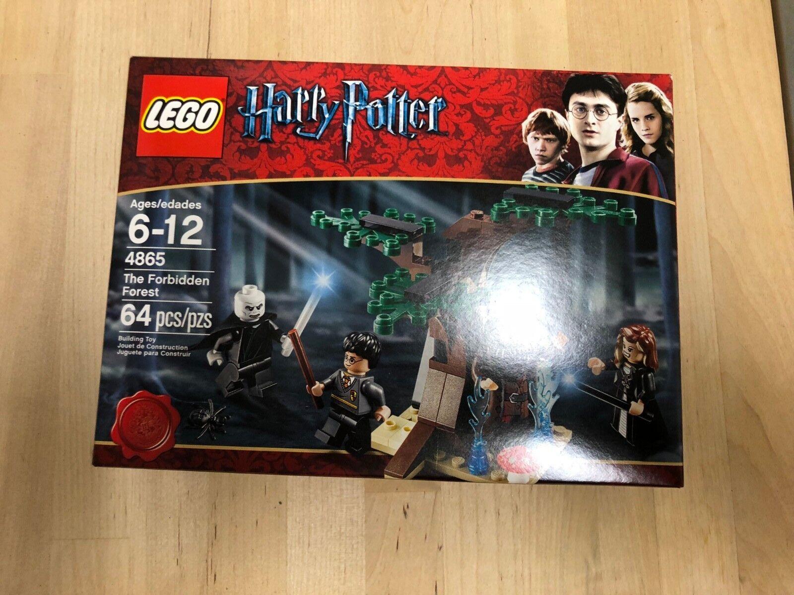 Lego Harry Potter The Forbidden Forest (4865) USA Seller