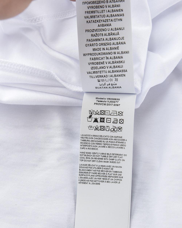 T shirt Versace Collection Sweatshirt Cotone Uomo Uomo Uomo Bianco V800683SVJ00277 V7001 61d670