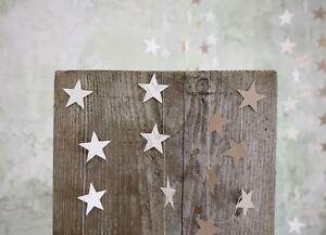 Star-Brown-Paper-Bunting-Garland-Shabby-Chic-Wedding-Decoration-Book-Print