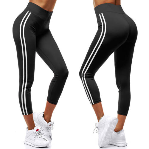 Leggings Yoga Fitness Leggins Jogging Trainingshose Sporthose Hosen Damen OZONEE