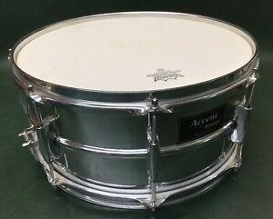 """Accent Par Ludwig 14"""" De Diamètre Par 6-1/2"""" Deep Snare Drum Chrome Sur Acier-afficher Le Titre D'origine"""